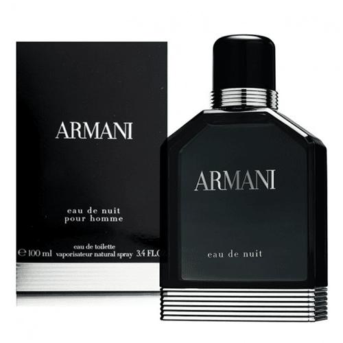 Armani Eau de Nuit by Giorgio Armani for Men - Eau de Toilette, 100 ml