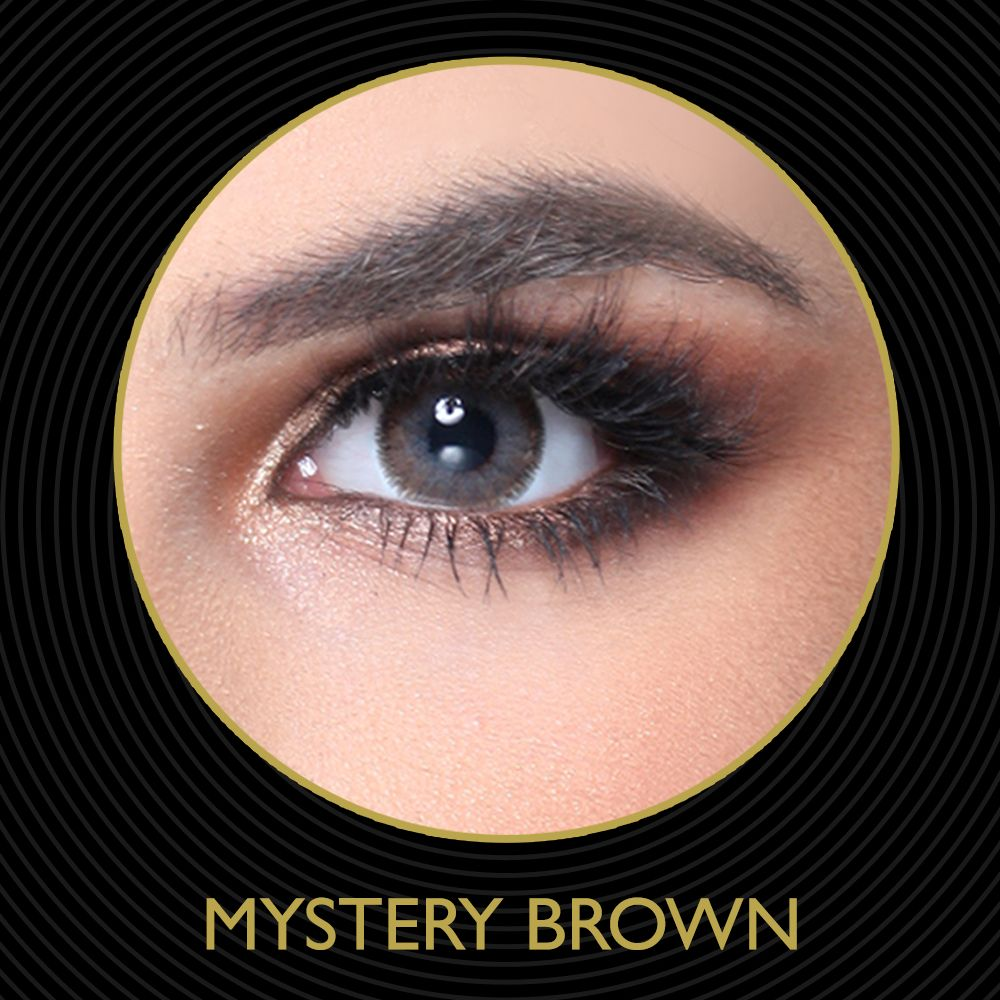 MYSTERY BROWN Mystery contact lenses Brown
