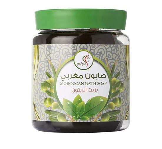 Al Arayes Moroccan Bath Soap For Body With Olive Oil 700 ml