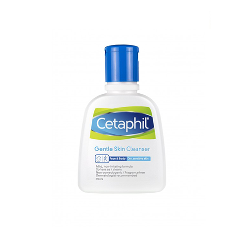Cetaphil Cleanser For Sensitive Skin 118 ML.