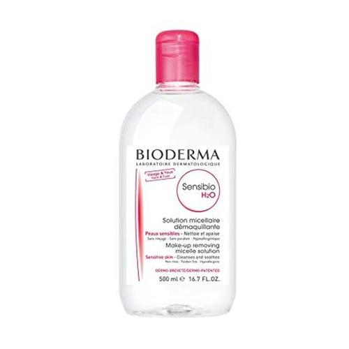 Bioderma Sensibio H2O Micellar Solution Make-up Remover for Sensitive Skin. 250 ML