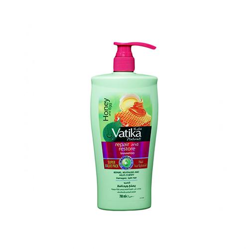 Vatika shampoo repair and revitalize 700 ml.