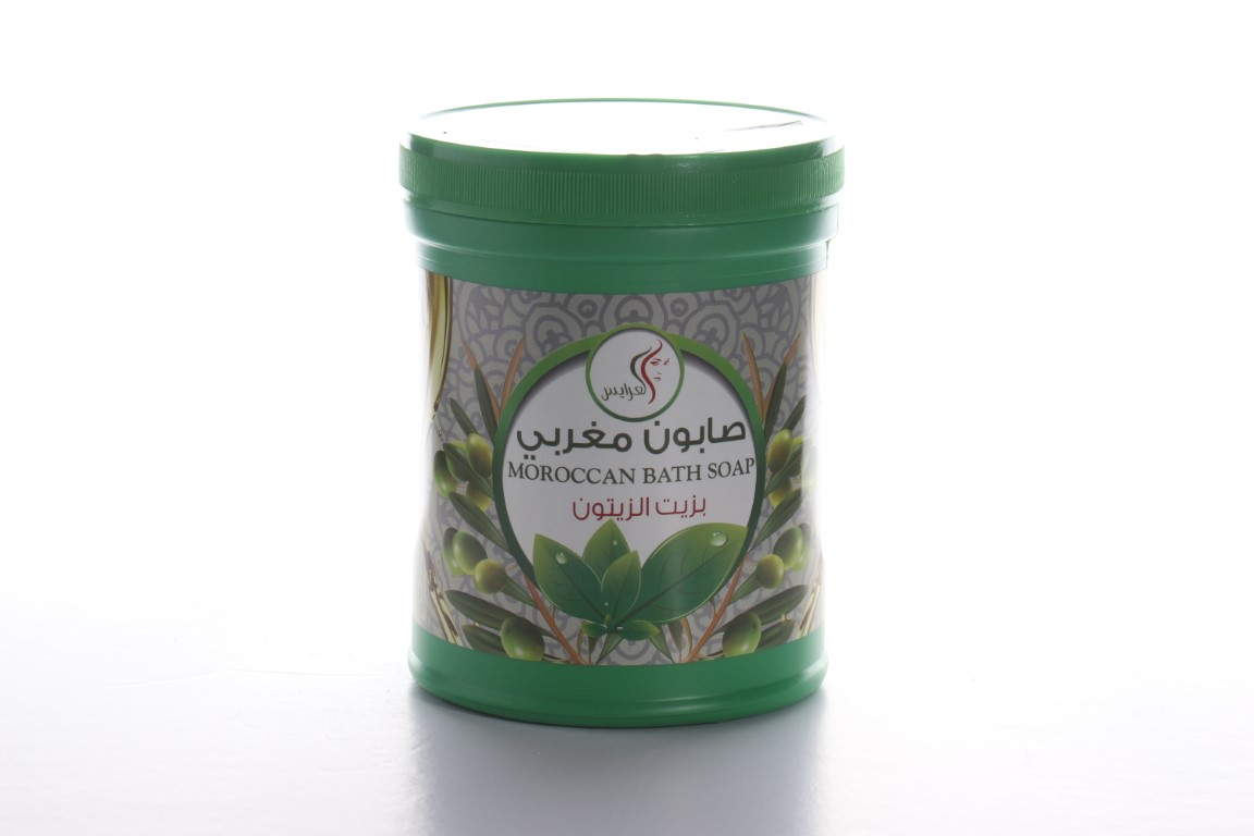 Al Arayes Moroccan Bath Soap For Body With Olive Oil 1000 ml
