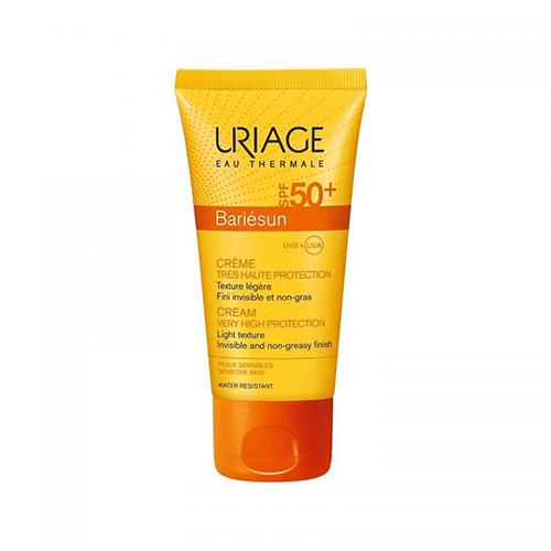 Uriage Bariésun Sunblock 50+ Cream Lightweight Fragrance Free - 50 ml