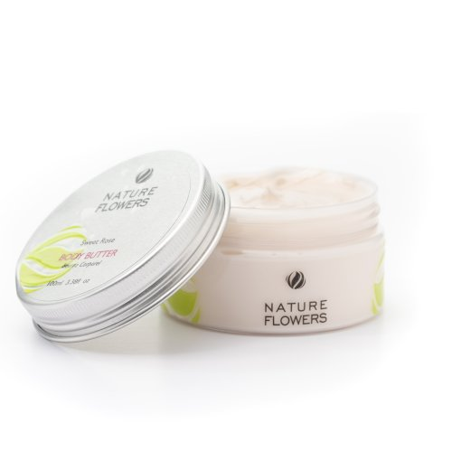 Nature Flowers Sweet Rose Body Butter 100 ML