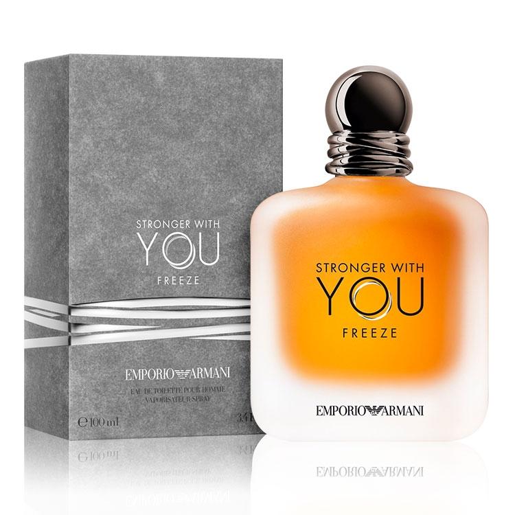 Stronger With You by Emperor Armani for Men - Eau de Toilette, 100 ml