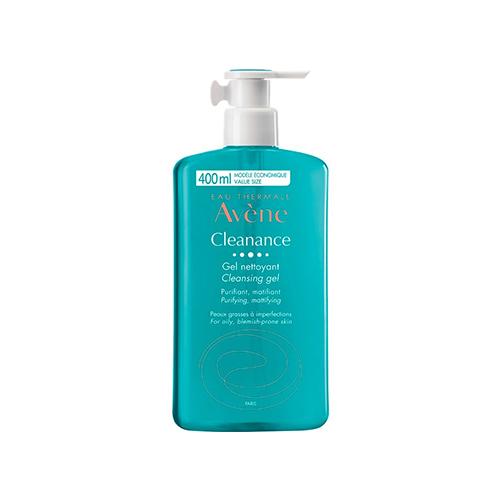 Avene cleansing gel for oily skin 400 ml