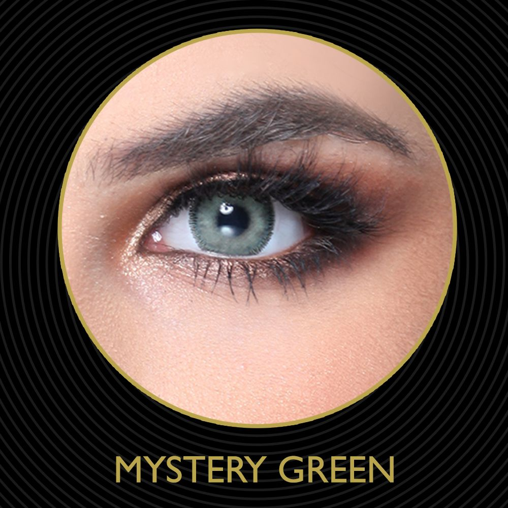 MYSTERY GREEN Contact lenses Mystery Green