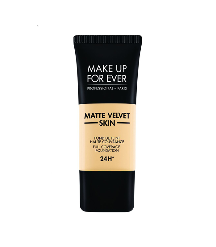 Make Up For Ever Matte Velvet Complete Coverage Foundation Y215 Yellow Pastel, 30 ml