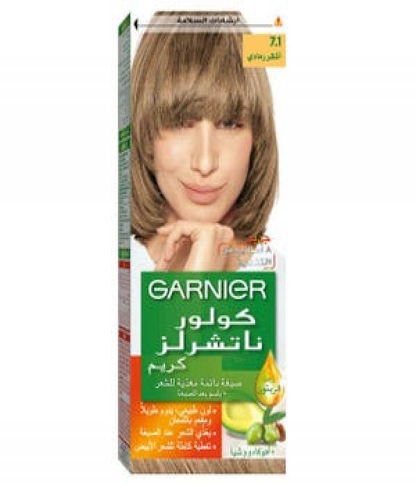 Garnier hair color no.7.1 ash blond.