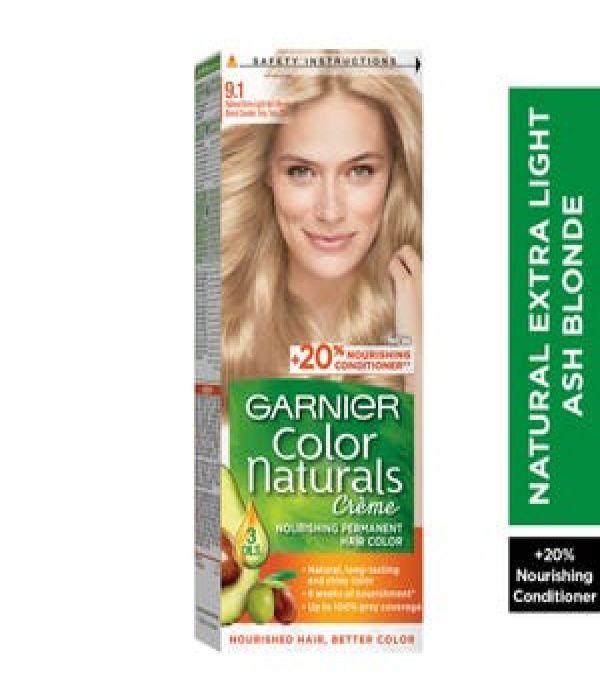 Garnier Color Naturals 9.1 Very Light Ash Blonde