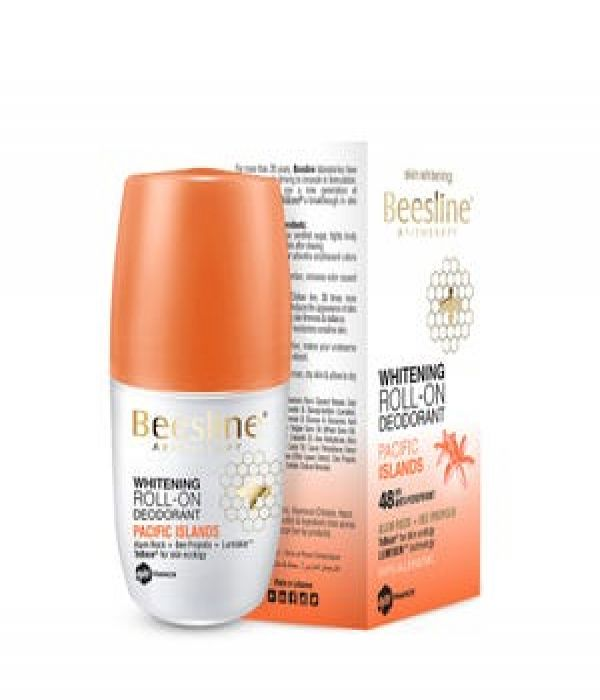 Beesline Deodorant Roll On Skin Whitening Pacific Islands 50ml