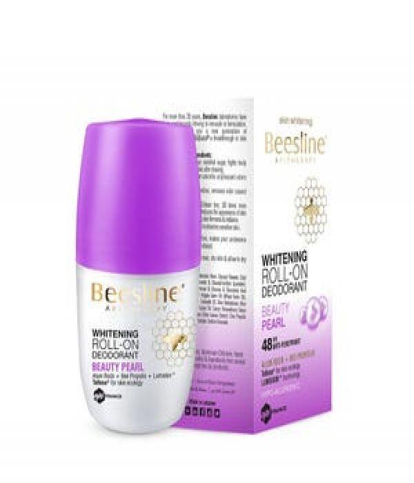 Beesline Deodorant Roll On, Pearl Glow Scent 50ml