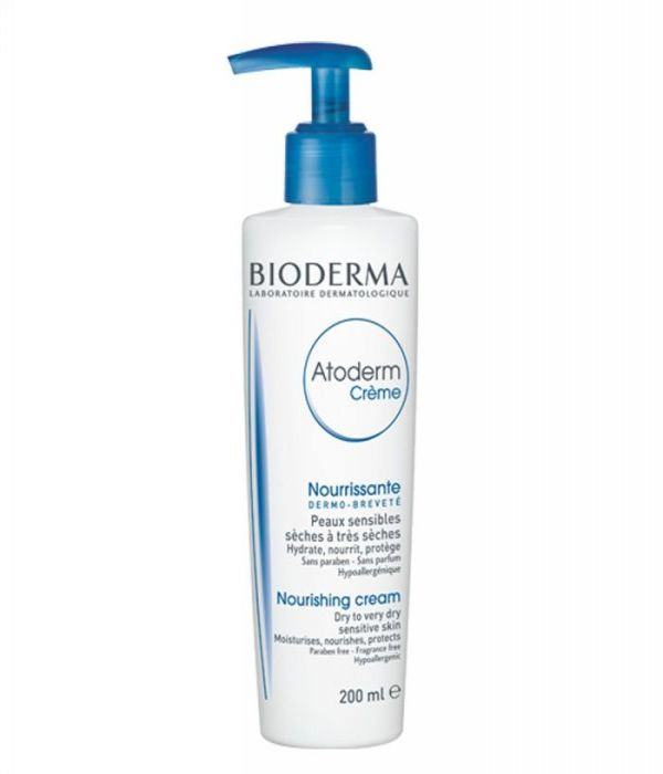 Bioderma Atoderm Cream to moisturize severely inflammatory skin with eczema and severely dehydrated skin - 200 ml