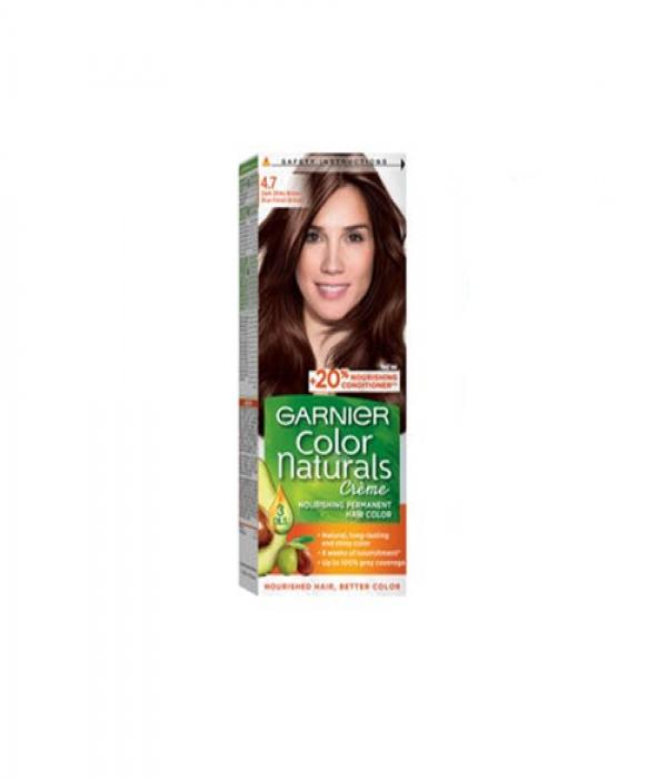 Garnier Hair Colorants Dark Brown 4.7