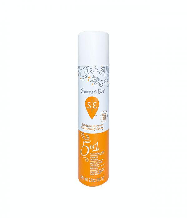 Fragrance spray for sensitive area Tahitian Sunset Summer Ev 56.7 g