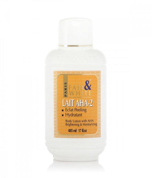 Fair and White AHA-2 Brightening Exfoliating Body Lotion - 485 ml