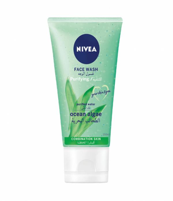 NIVEA, Face Wash, Prevent Shine, Combination to Oily Skin - 150ml
