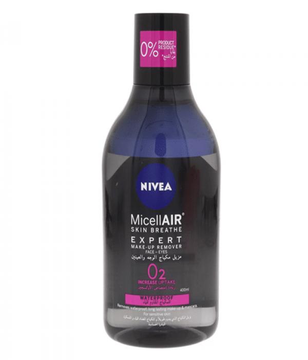 Nivea Micellar Expert Waterproof Make Up Remover For Sensitive Skin - 400ml