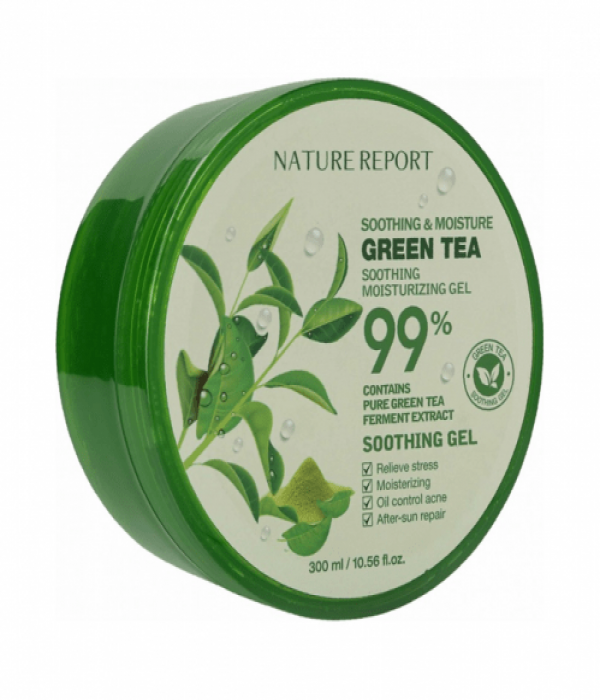 Nature Report Green Tea Moisturizing and Soothing Gel - 300ml