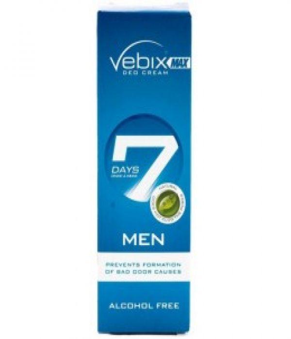 Vebix Deodorant Cream for Men , 25 ml