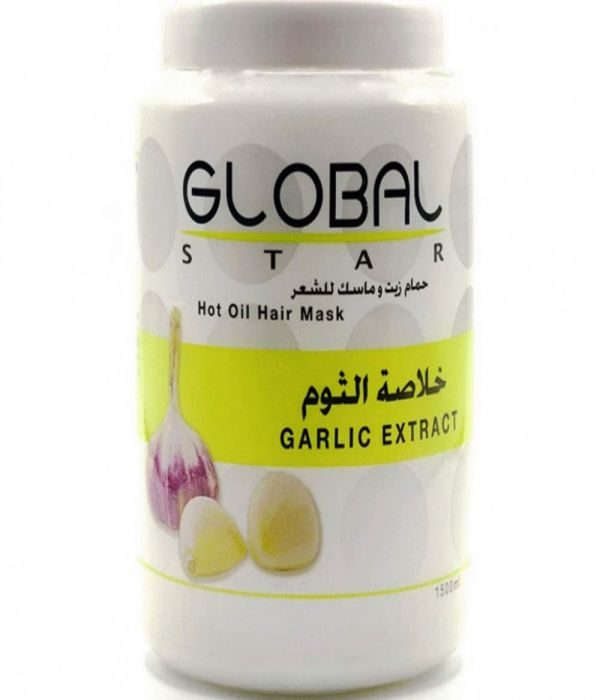 Global Star Hot Oil Hair Mask with Garlic Extract 1500ml