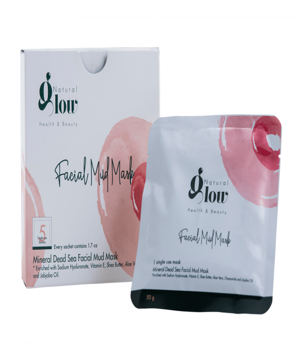 Dead sea mud mask for the face (one use 5 masks)