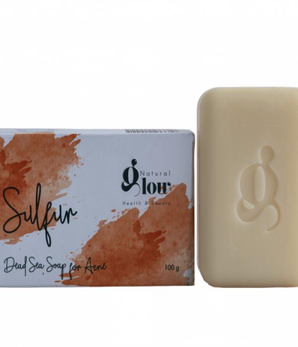 Sulfur soap dead sea salt 100g