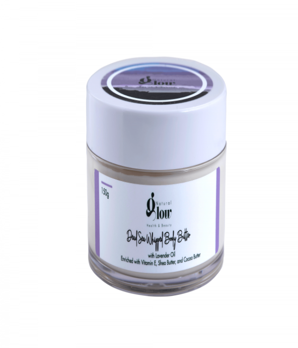 Dead Sea Body Butter with Lavender 150g