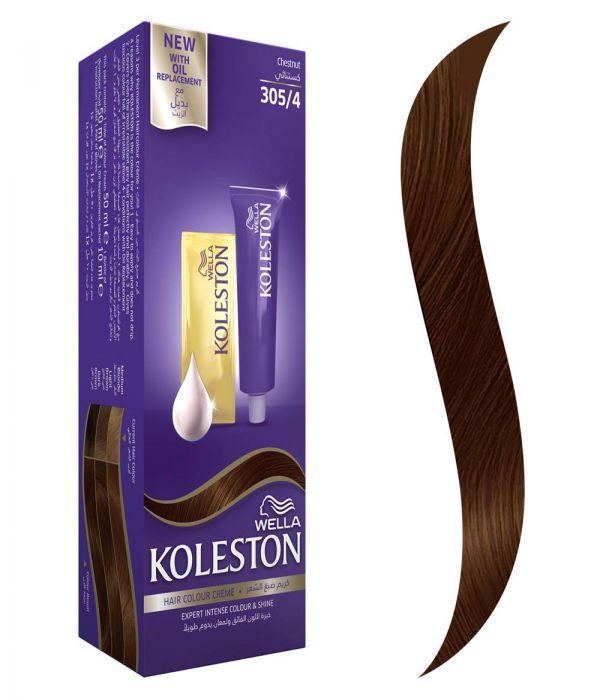 Koleston Hair Color Chestnut + Developer 305/4