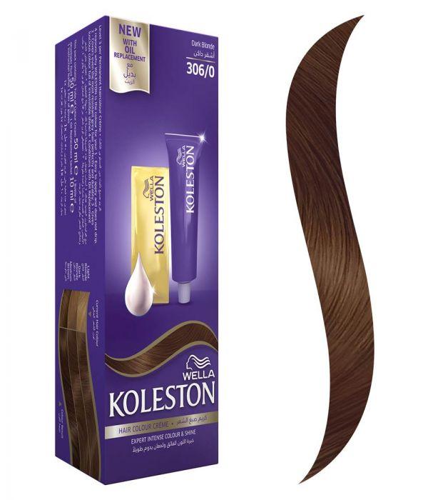 Koleston Hair Color Dark Blond + Developer 306/0