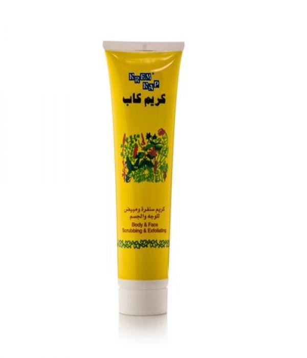 Cap scrub cream for face and body - 150 ml