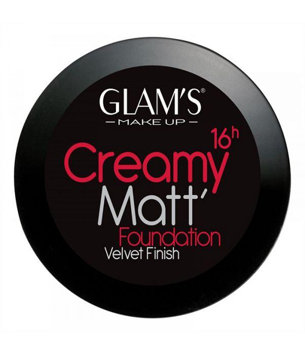 Glam's Creamy Matt Foundation, Golden 246