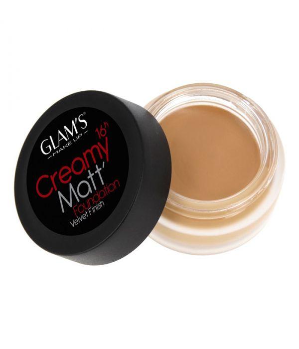 Glam's Creamy Matt Foundation, Praline 247A