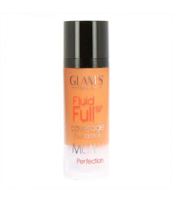 Glam's Fluid Full Foundation, Warm Honey 227