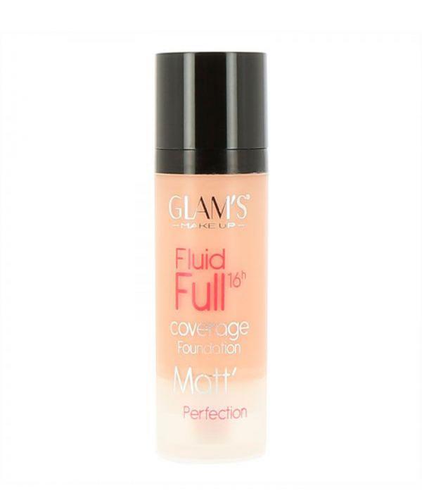 Glam's Fluid Full Foundation, Bright Beige 220