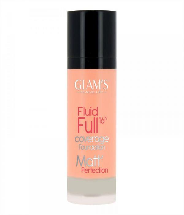 Glam's Fluid Full Foundation, Beige 221