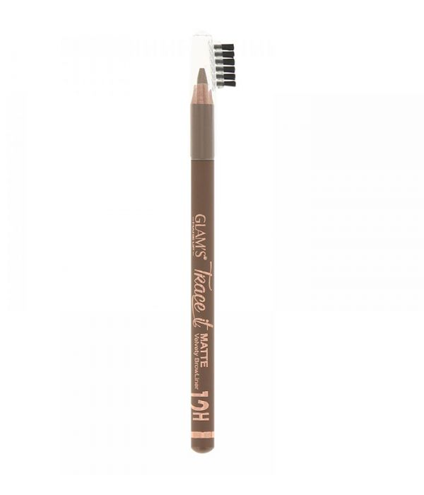 Glam's Trace it brow pencil, Brown 797