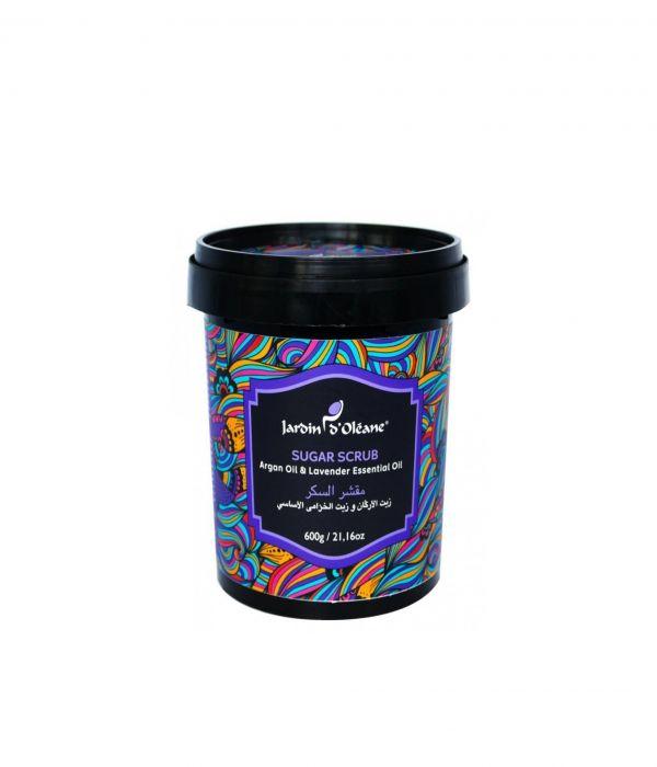Olean Sugar Scrub with Argan Oil and Lavender Oil 600g