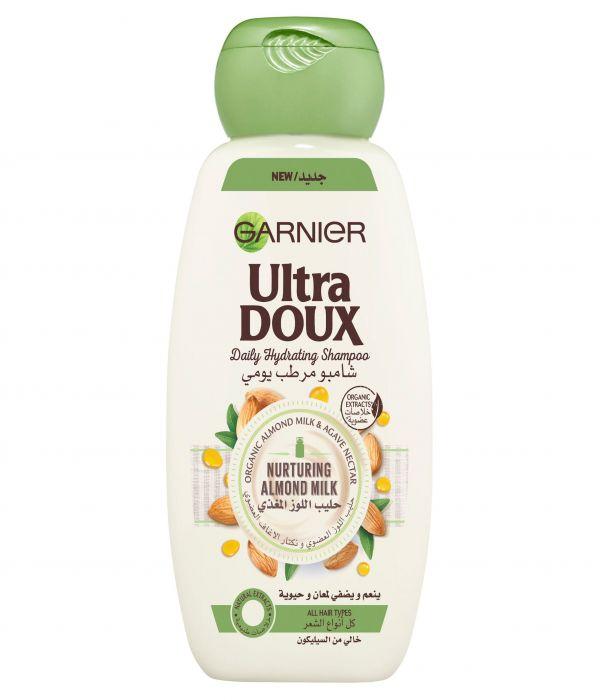 Garnier Nourishing Almond Milk Daily Moisturizing Shampoo - 200 ml