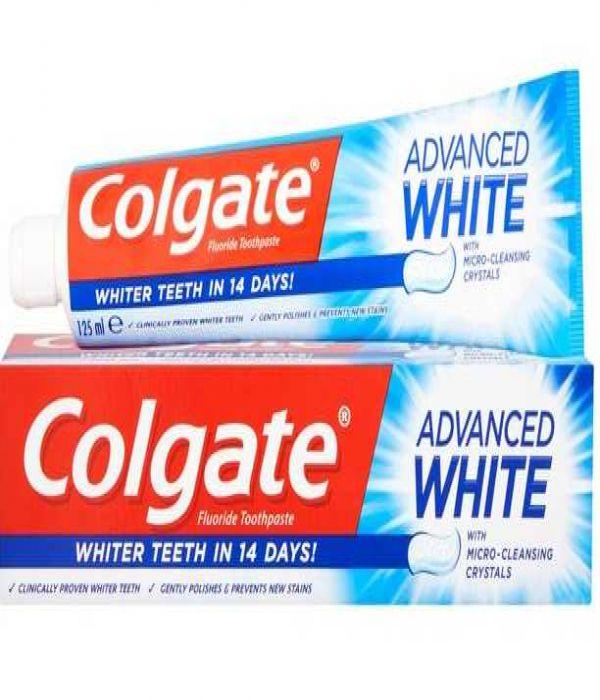 Colgate Toothpaste Advanced White Whitening 125 ml