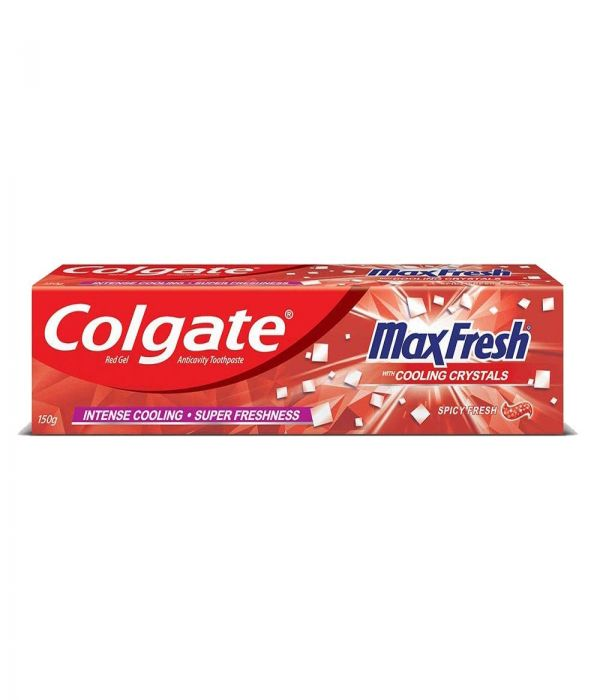 Colgate Toothpaste Max Fresh - Spicy Fresh 100 ml Red