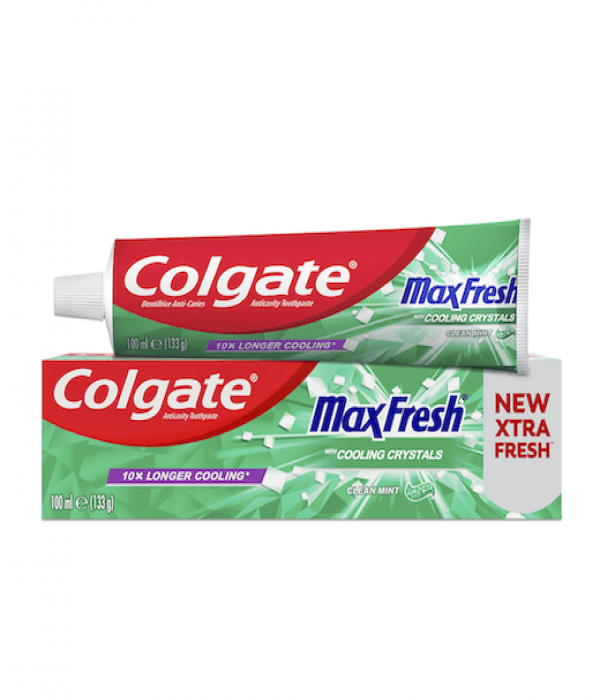 Colgate Toothpaste Max Fresh - Clean Mint 100 ml Green