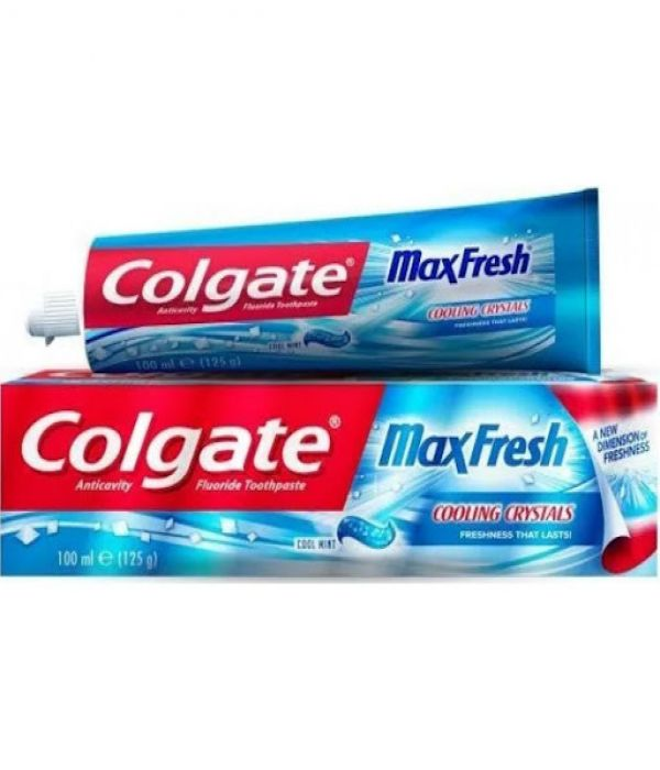 Colgate Toothpaste Max Fresh - Cool Mint 100ml Blue