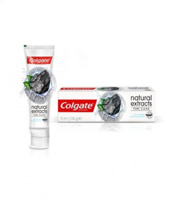 Colgate Toothpaste Natural Active Charcoal And Mint 75 ml