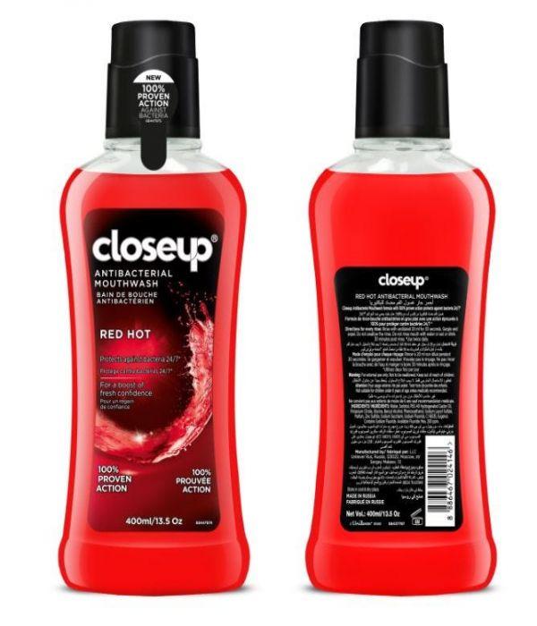 Clozap Mouthwash Red Hot 400 ml